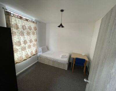 W16R1 Single Room with shared kitchen & shared bathroom